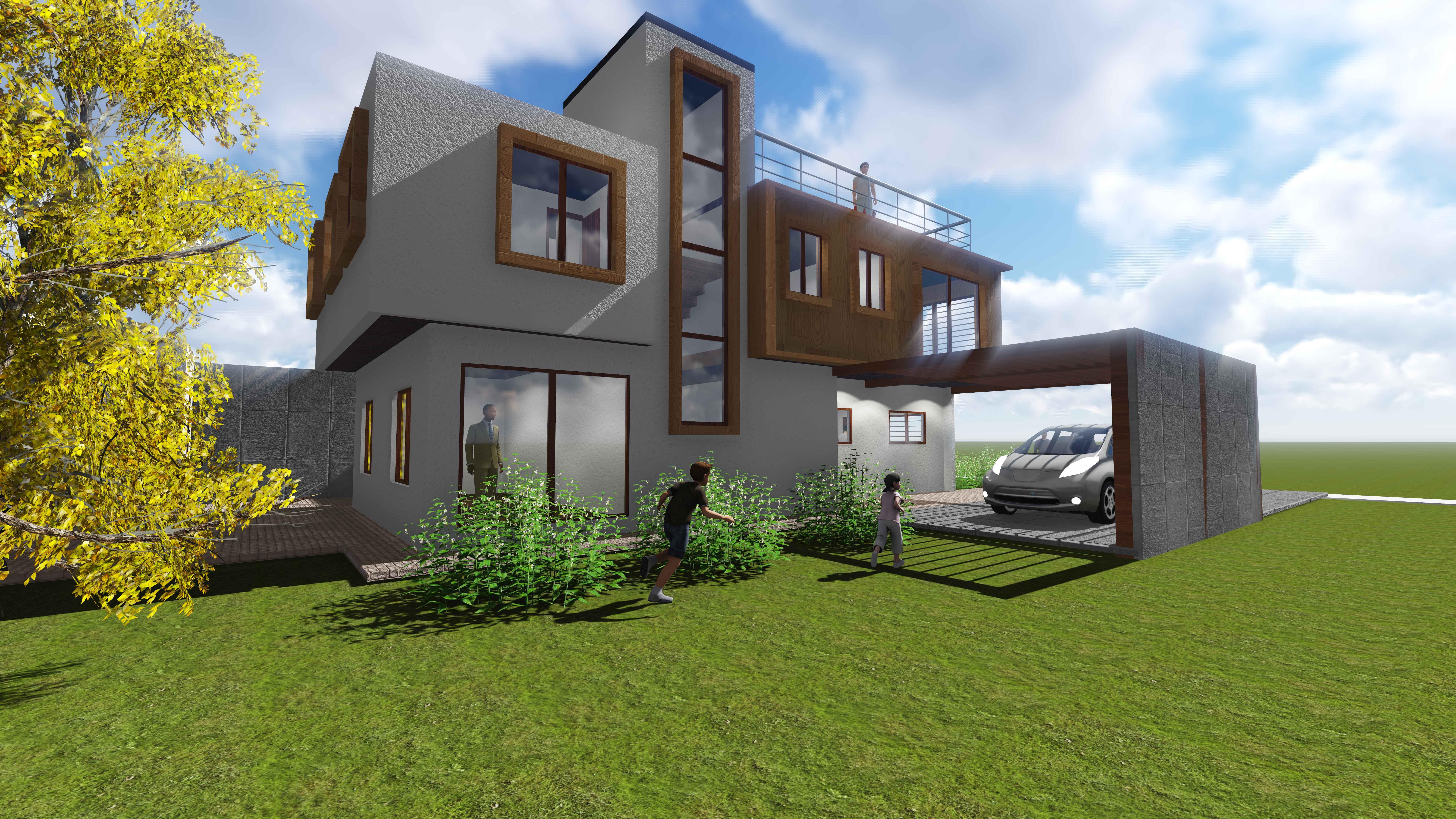 Biourban casa mislan vitacura chile for Buscar vivienda