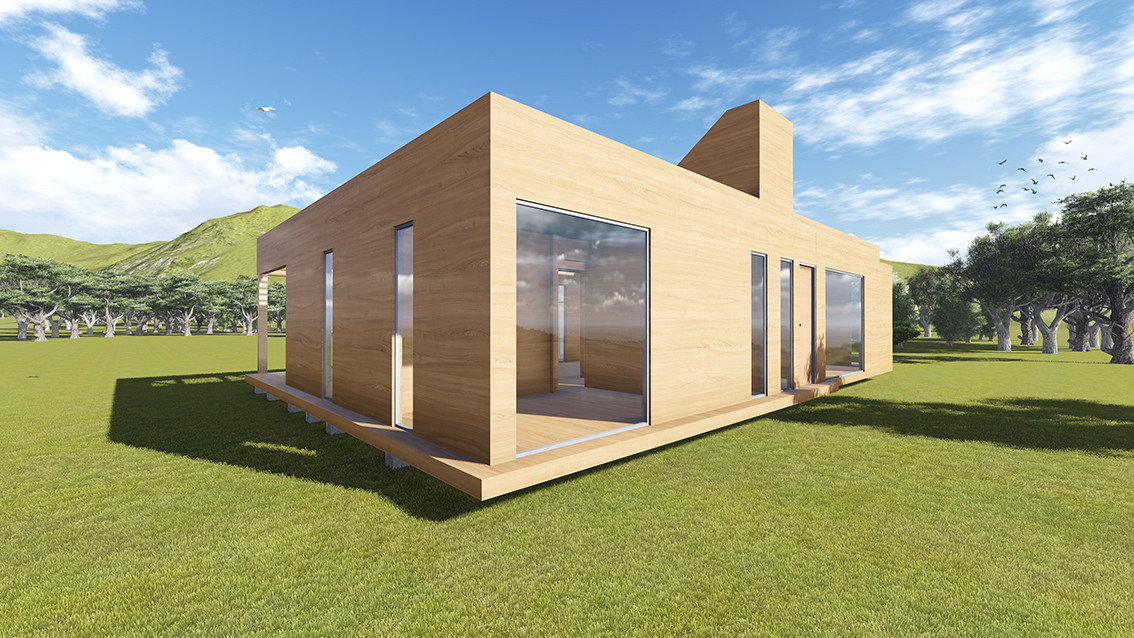 Casas modulares y prefabricadas
