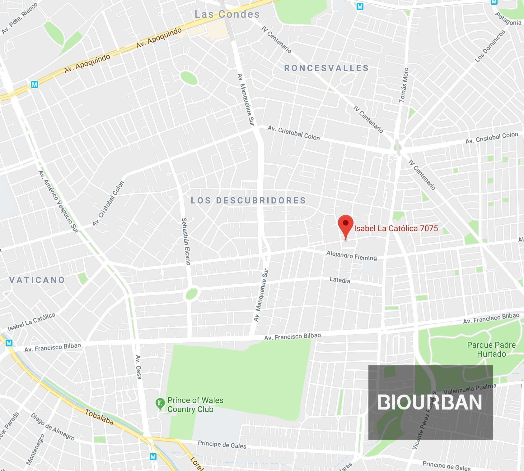 Navegar hasta Biourban Las Condes